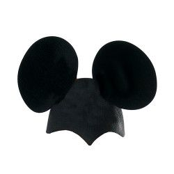 Chapeau noir de souris enfant Accessoires de fête 79820