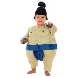 Déguisements, Déguisement sumo rembourré bébé, 910-, 26,50€
