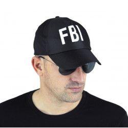 Casquette FBI noire adulte Accessoires de fête 90880