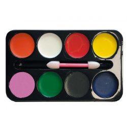 Palette maquillage 8 couleurs Accessoires de fête 90634