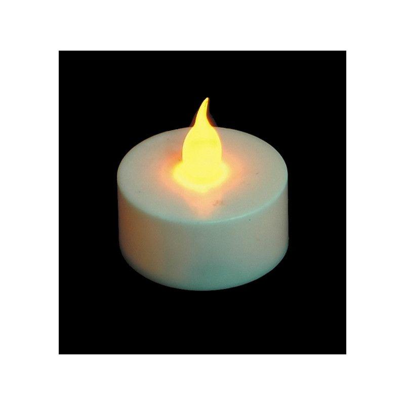 Set 2 bougies blanches à led Déco festive 4091