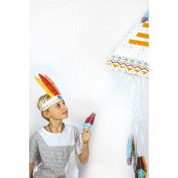Pinata anniversaire Tipi indien Déco festive 40120