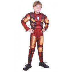 Déguisements Enfant, Déguisement super robot musclé enfant, 87281337-, 23,90€