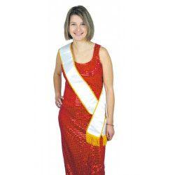 Echarpe Miss VIERGE Accessoires de fête 8731014