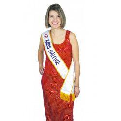 Echarpe Miss Râleuse Accessoires de fête 8731012
