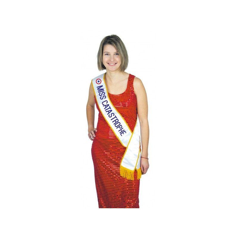 Echarpe Miss Catastrophe Accessoires de fête 8731011