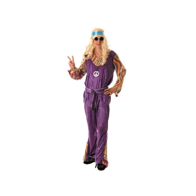Déguisements, Déguisement Woodstock hippie adulte, 871181, 17,90€