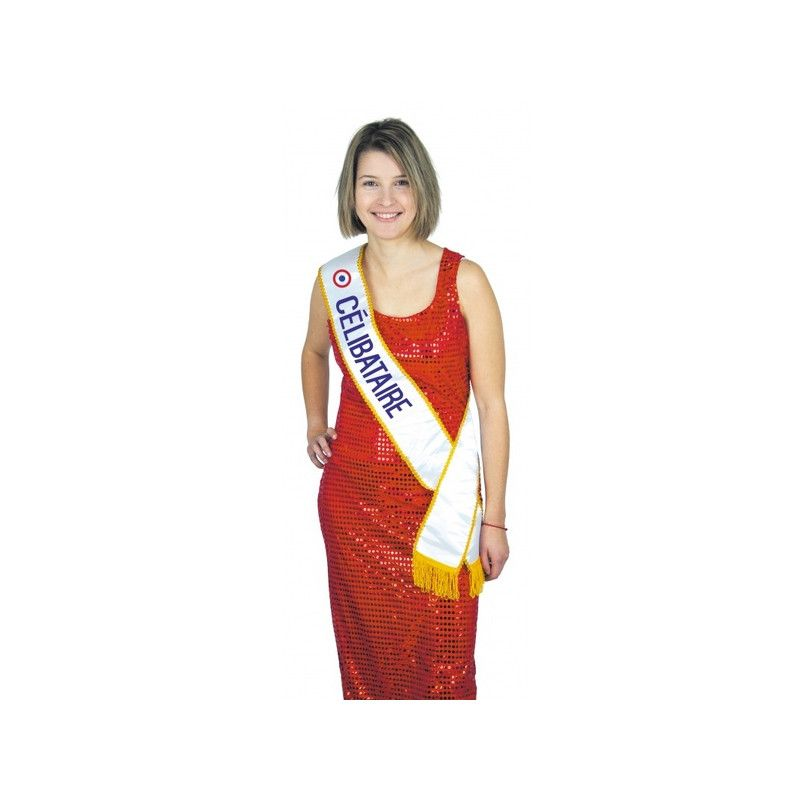 Echarpe Miss Célibataire Accessoires de fête 8731013