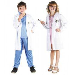 Déguisements, Déguisement blouse docteur mixte enfant 4-6 ans, 8728758646, 14,90€