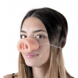 Nez de cochon en plastique Accessoires de fête 333215
