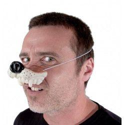Museau de loup en plastique Accessoires de fête 333223