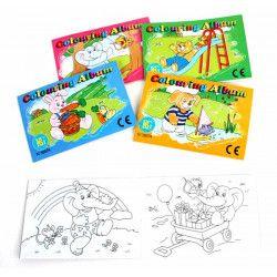 Jouets et kermesse, Album à colorier enfant vendu par 48, 38574-LOT, 0,24€