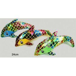 Peluches dauphin glitter 24 cm Jouets et articles kermesse 79102-LOT