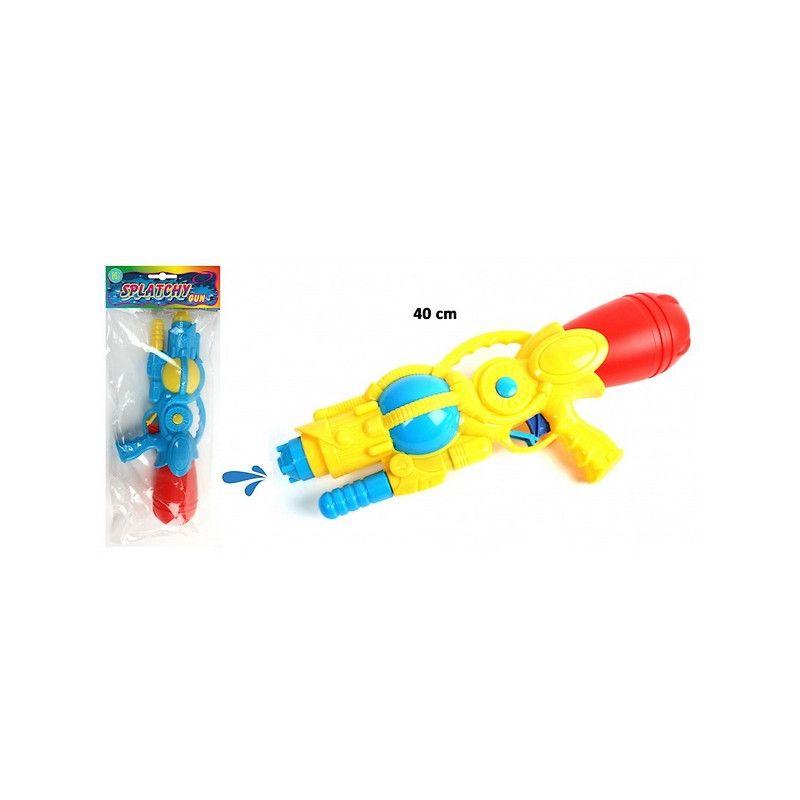 Pistolet à eau canon pompe 40 cm Jouets et kermesse 28520