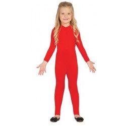 Déguisement justaucorps rouge fille 10-12 ans Accessoires de fête 85667