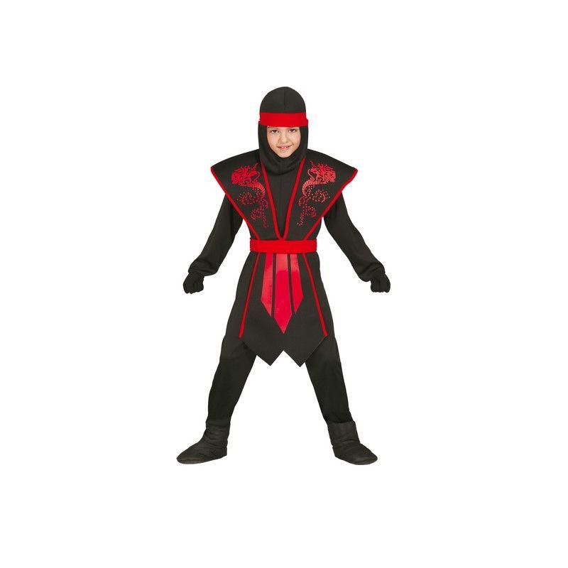 Déguisements, Deguisement Ninja garçon taille 10-12 ans, 81253, 22,50€