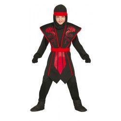 Déguisements, Deguisement Ninja garçon taille 7-9 ans, 81252, 22,50€