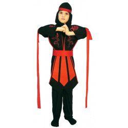 Déguisements, Deguisement Ninja garçon taille 4-6 ans, 81251, 22,50€