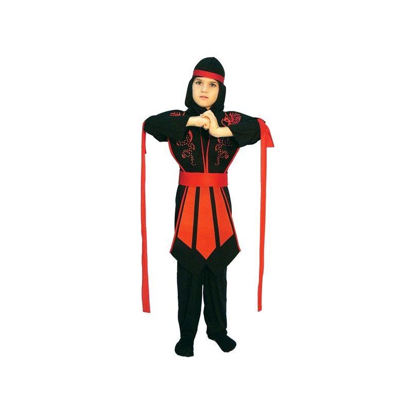 Deguisement Ninja garçon taille 4-6 ans Déguisements 81251
