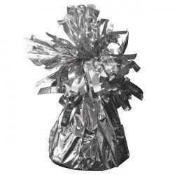 Poids pour ballon hélium argent 160 g environ Déco festive 04951