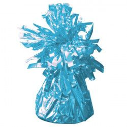 Poids pour ballon hélium bleu clair 160 g environ Déco festive 04960