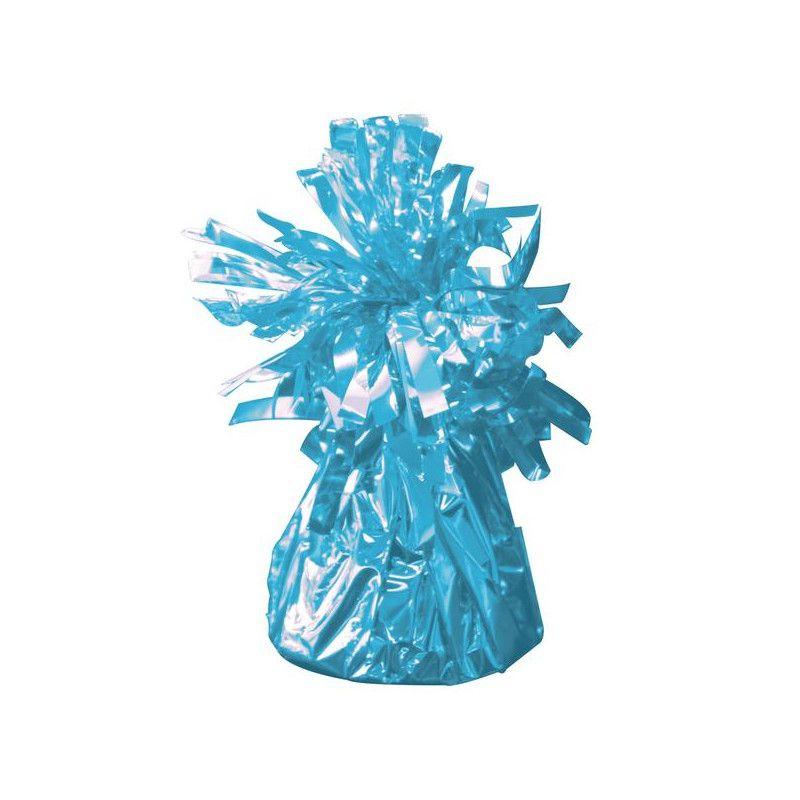 Poids pour ballon hélium bleu clair 170 g Déco festive 04960