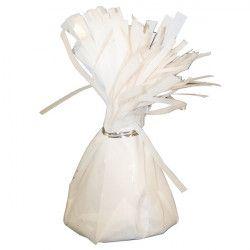 Déco festive, Poids pour ballon hélium blanc 160 g environ, 04962, 1,30€