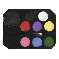 Blister maquillage 8 couleurs pour enfants Jouets et kermesse 15684