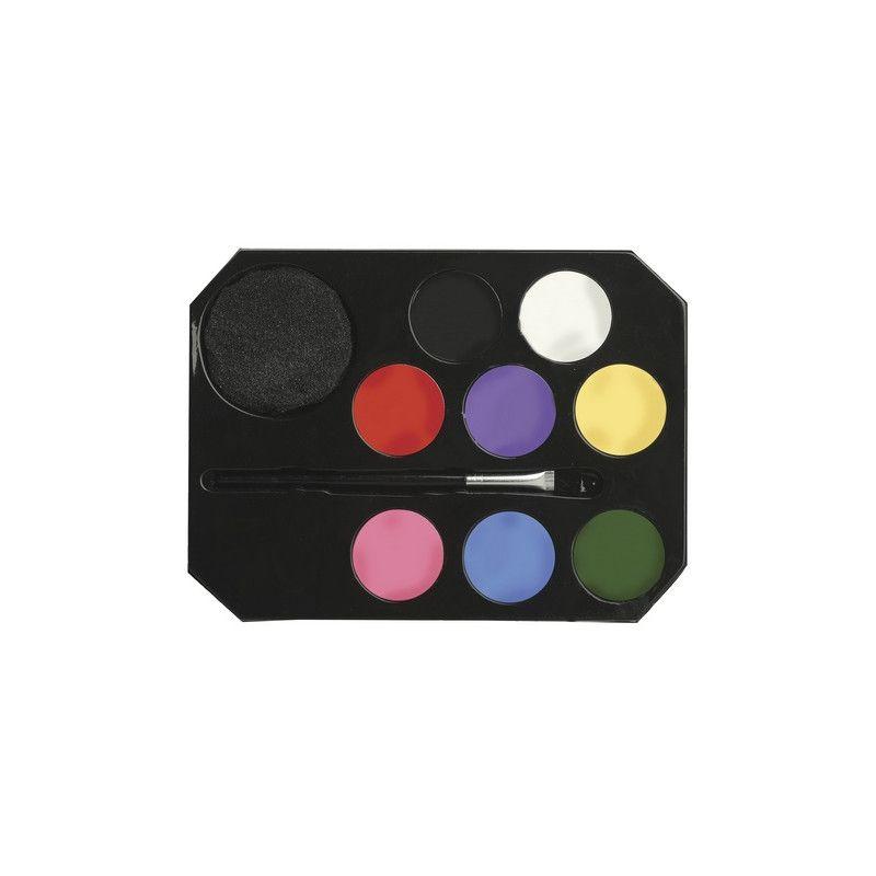 Jouets et kermesse, Blister maquillage 8 couleurs pour enfants, 15684, 7,90€