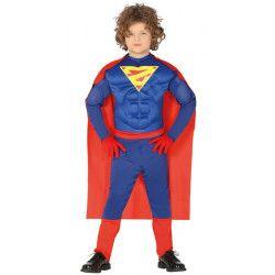 Déguisements, Déguisement super héro musclé garçon 10-12 ans, 88490, 25,90€