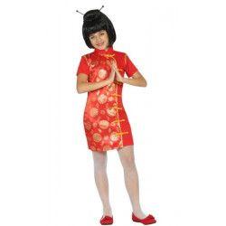 Déguisements, Déguisement robe chinoise fille, 223-, 18,50€