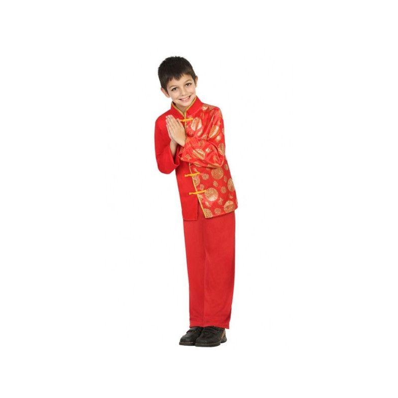 Déguisement chinois garçon 5-6 ans Déguisements 22352