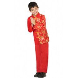 Déguisements, Déguisement chinois enfant 10-12 ans, 22499, 21,90€