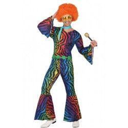 Déguisement disco motifs colorés adulte Déguisements 386-
