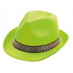 Borsalino vert adulte Accessoires de fête 87340