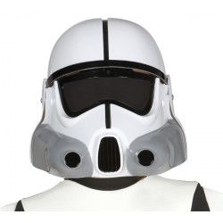 Casque blanc soldat de la galaxie enfant Accessoires de fête 13699