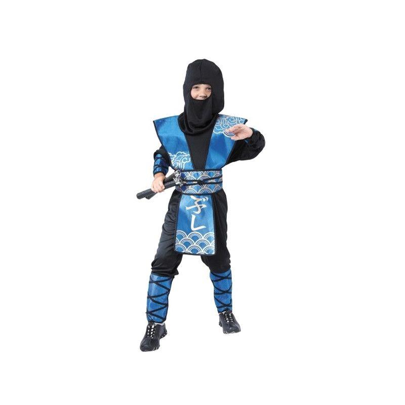 Déguisements, Costume ninja luxe 7- 9 ans, 8728750579, 19,90€