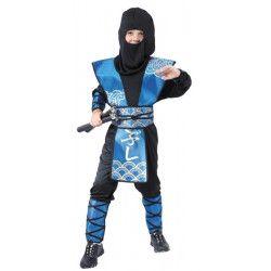 Déguisements, Costume Ninja garçon 4-6 ans, 8728750546, 19,90€
