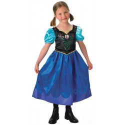 Déguisement Anna Frozen™ fille 7-8 ans Déguisements I-889543L