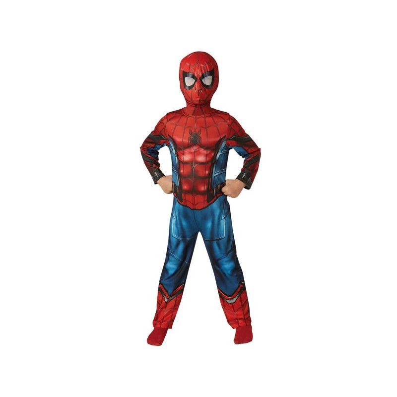 Déguisements, Déguisement classique Spiderman Homecoming™ garçon 7-9 ans, I-630730L, 29,90€