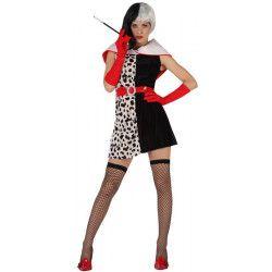 Déguisements, Deguisement femme Cruell sexy taille 38/42, 96830, 24,50€