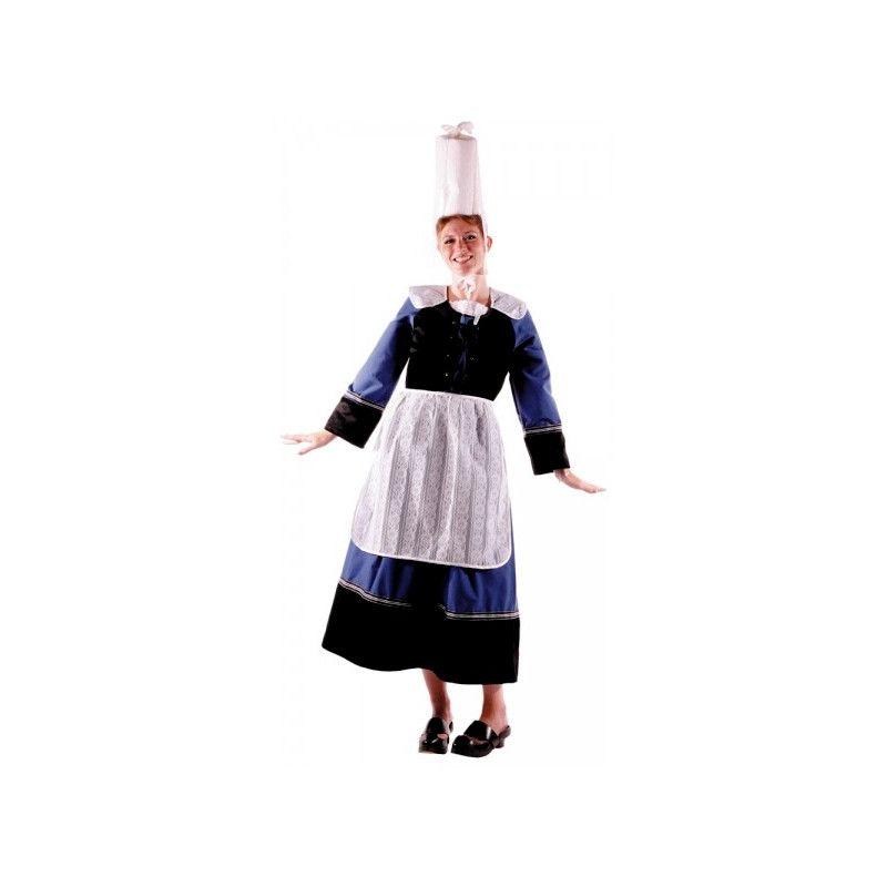 Déguisement Bretonne femme taille M-L Accessoires de fête 873334