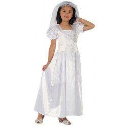 Déguisements, Déguisement mariée enfant 7-9 ans, 8729870879, 18,50€