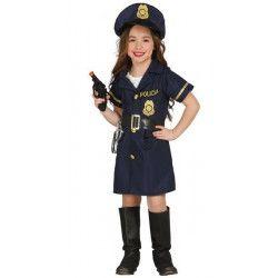 Déguisements, Déguisement policière fille 10-12 ans, 85703, 18,90€