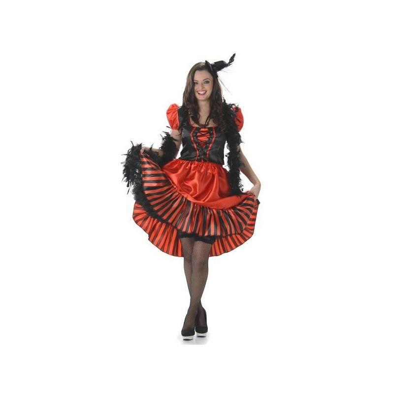 Déguisement robe saloon rouge femme taille L Déguisements 81045L-149087