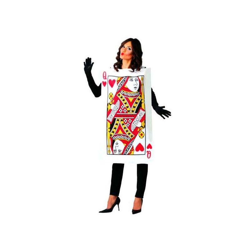 Déguisement carte à jouer Reine de Coeur femme Déguisements 80780