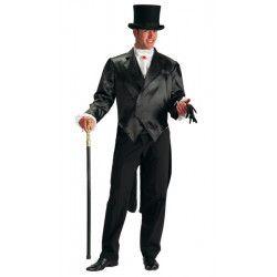 Déguisements, Costume frac noir homme taille M, 80759, 39,90€