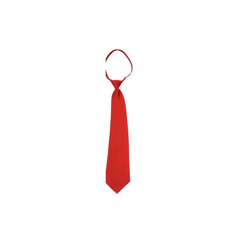 Cravate rouge adulte Accessoires de fête 71575