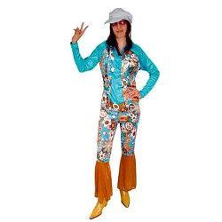 Déguisements, Déguisement hippie femme taille M-L, 69018, 26,32€