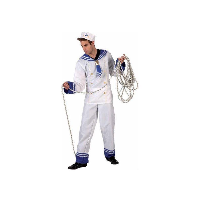 Déguisement marin blanc homme taille XL Déguisements 6001